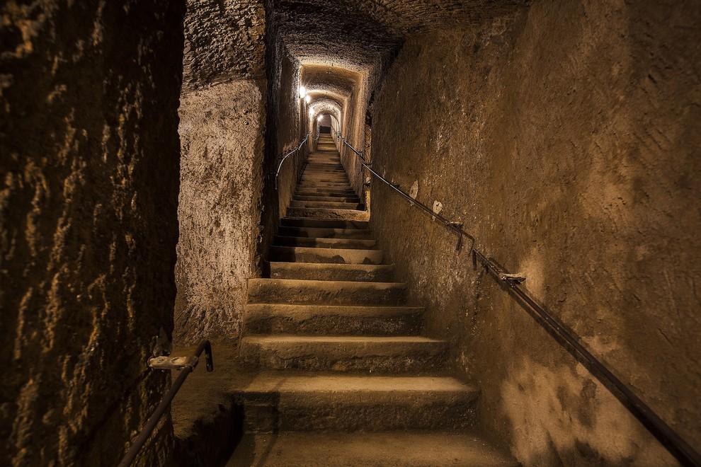 napoli tunnel borbonico