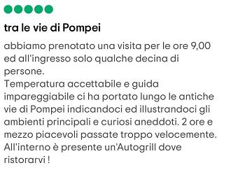 ingressi pompei