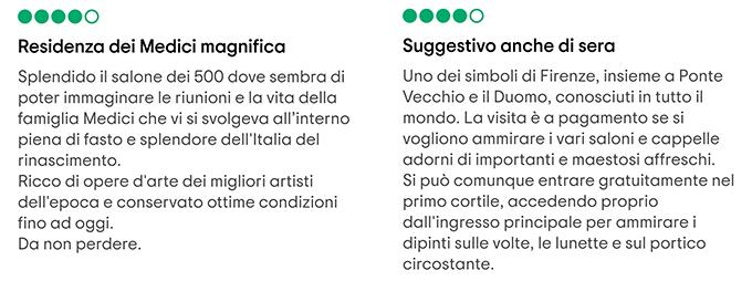 Palazzo Vecchio recensioni