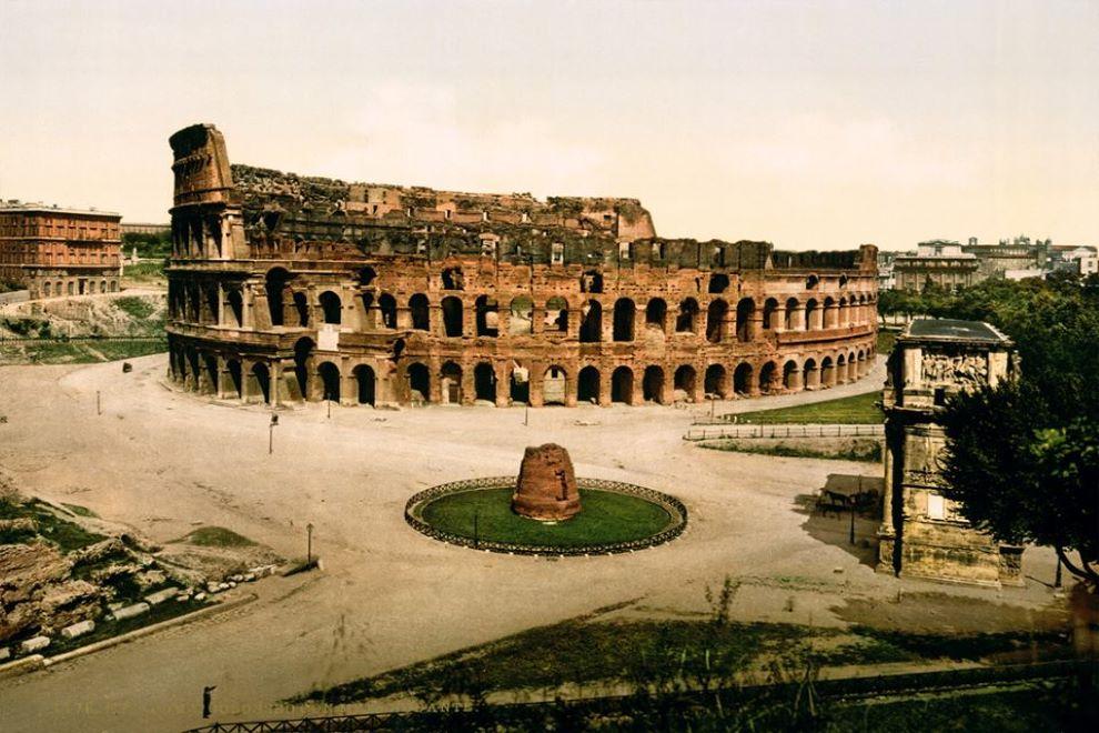 anfiteatro flavio colosseo roma