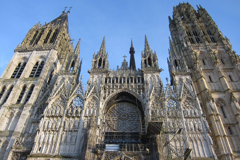 cattedrale notre dame rouen