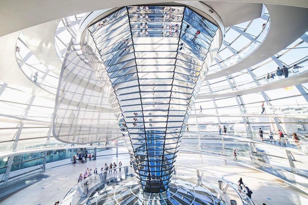 cupola parlamento berlino