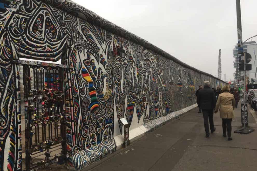 muro di berlino caduta