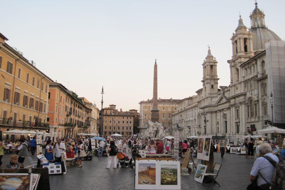 piazza navona bernini