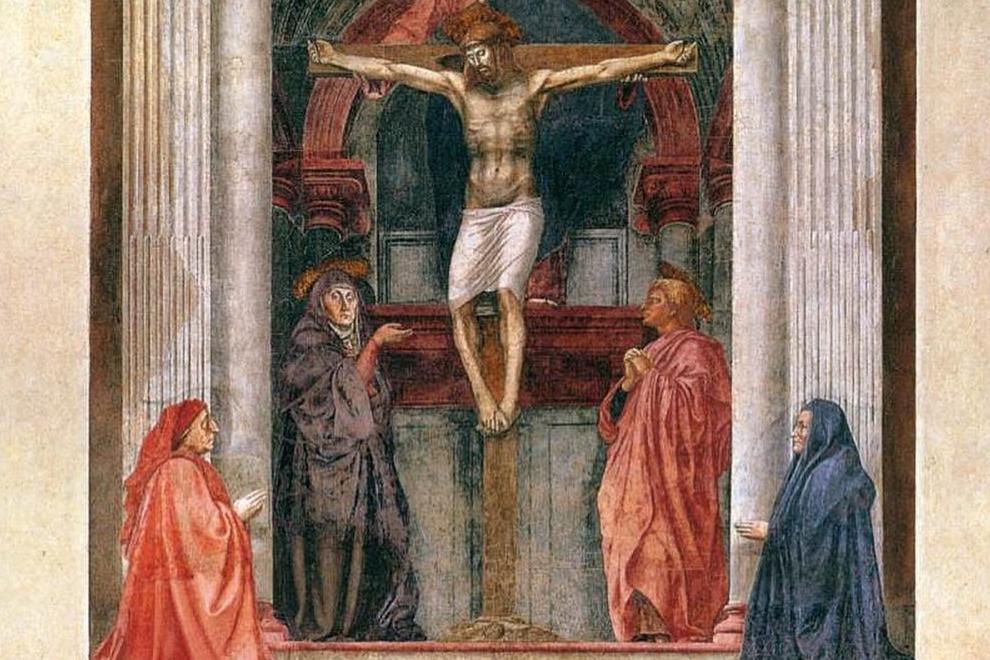 Trinità Masaccio Santa Maria Novella