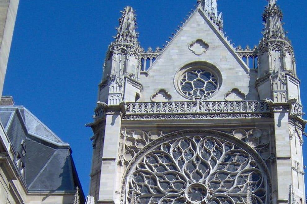 sainte chapelle esterno