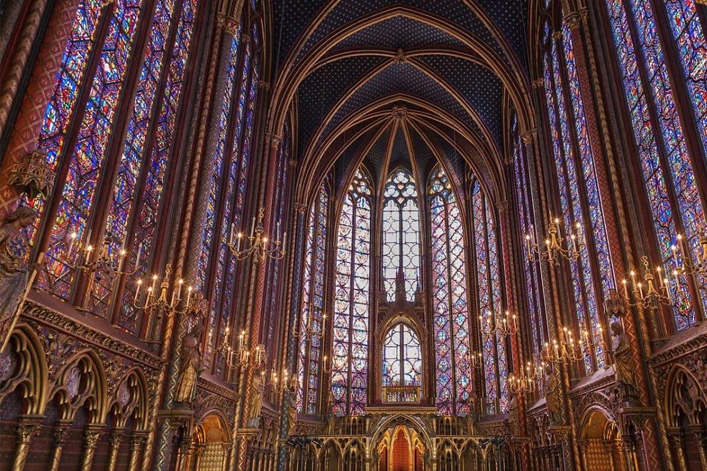 sainte chapelle vetrate