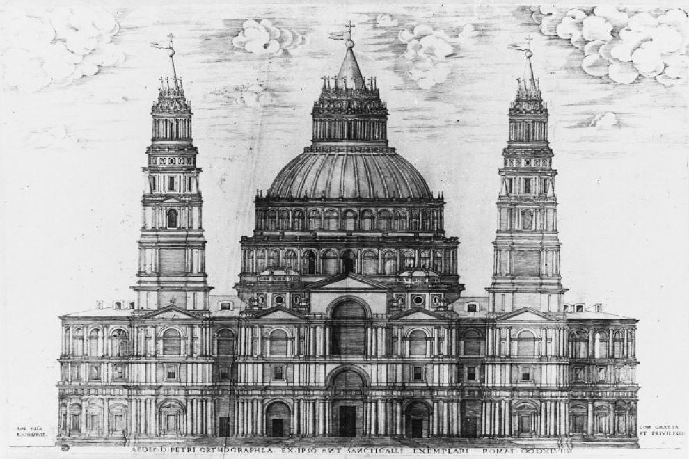 basilica di san pietro architetti