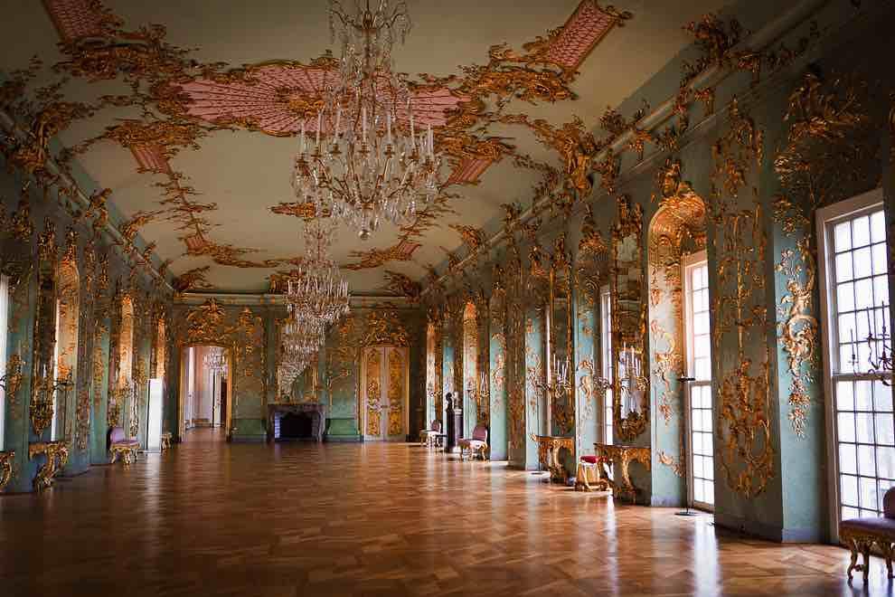 castello di charlottenburg interni