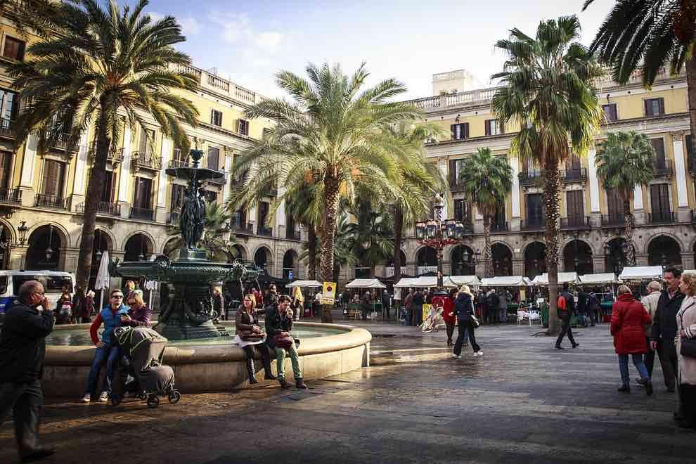 barrio gotico en barcelona