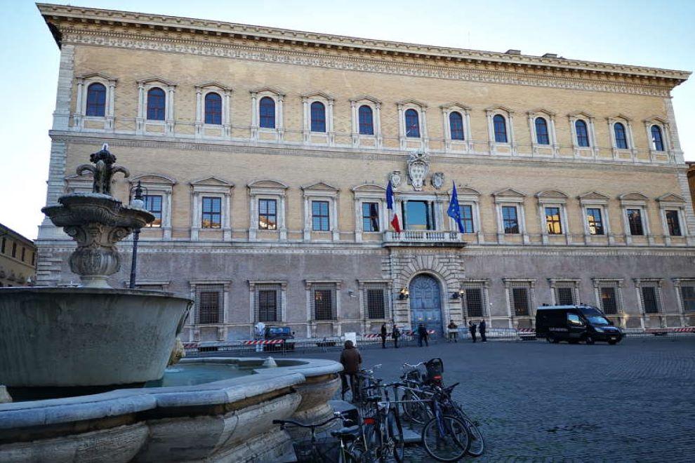 palazzo farnese roma pianta