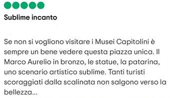 piazza campidoglio roma italia