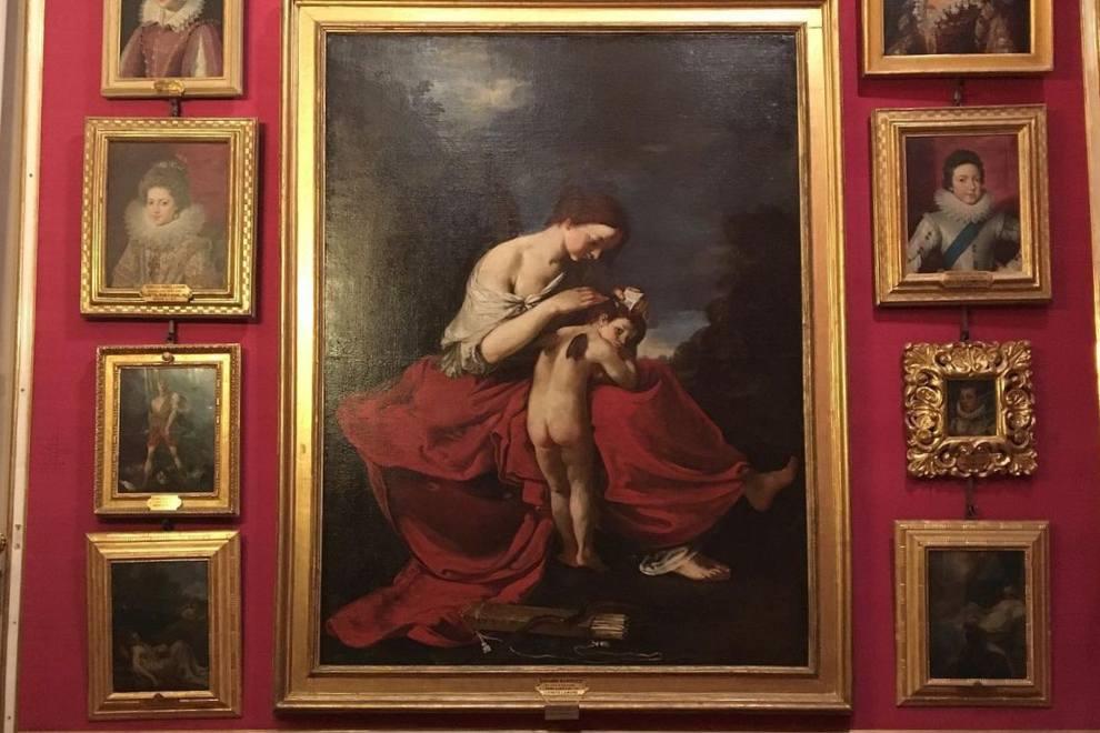 galleria palatina palazzo pitti