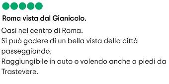 gianicolo roma